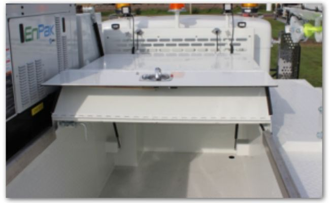 Aluminum Slide Top Covers Maintainer